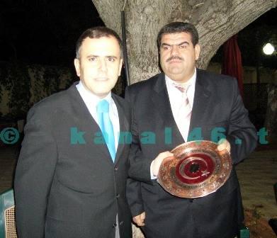 Türkoğlu malmüdürü KILIÇ  ve komutan KARTAL için veda programı yapıldı