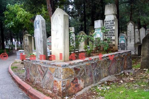 Osman onbaşı'nın mezarı  yenilendi