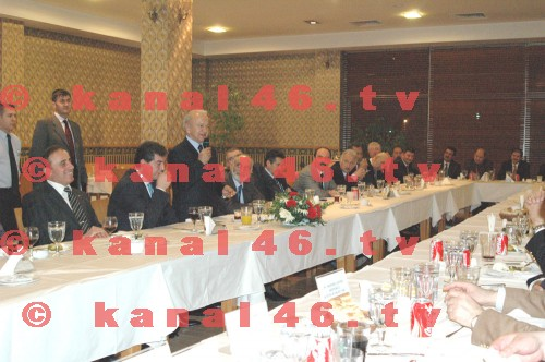 KATSO'dan Vali Atış'a veda yemeği