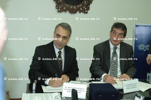 Yapı Kredi ile KATSO arasında protokol imzalandı