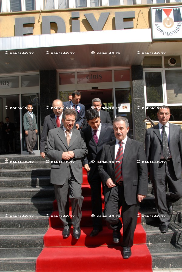 Bardakoğlu'ndan Belediye'ye ziyaret