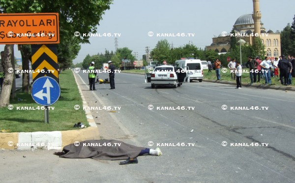 Arsan Center kavşağında üzücü kaza: 1 ölü, 1 ağır yaralı!