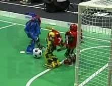 Son tutku 'robot futbolcu'