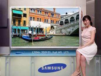 Samsung'dan yüzde 50 güç tasarruflu LCD TV