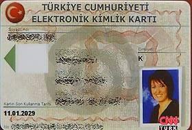 2009'da elektronik kimlik kartları geliyor