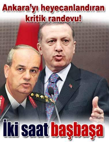 Başbuğ: Görüşme talebi Erdoğan'dan geldi