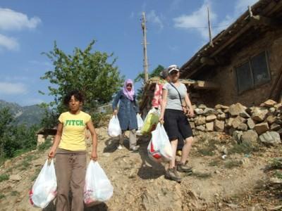 KADAK'tan ramazan yardımı ziyaretleri