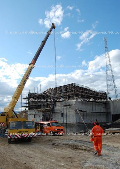 FLAŞ: OSB'de beton kalıbı kazası!