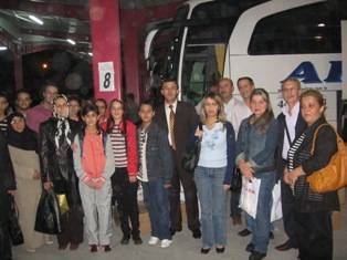 Gazi İlköğretim Okulu ispanya'ya gitti
