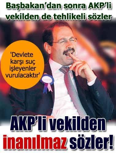 AKP'li vekilden şok sözler!