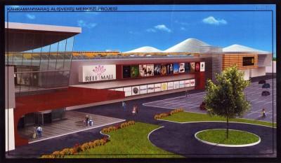 Kahramanmaraş'a modern alışveriş merkezi