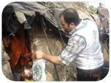 İnsani Yardım Derneği Beyrut'u da unutmadı