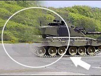 İşte görünmez tank!