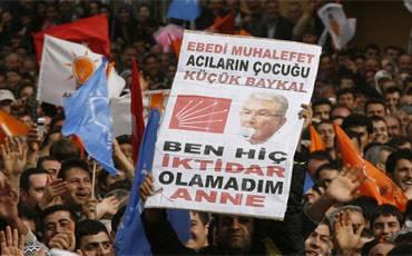 Erdoğan'ı güldüren pankart