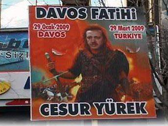 Erdoğan'a ilginç pankart