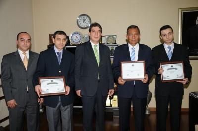 Kahramanmaraş'ta başarılı firmalara sertifika