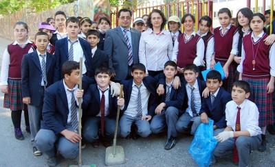 Öğrenciler temizlik kampanyası başlattı