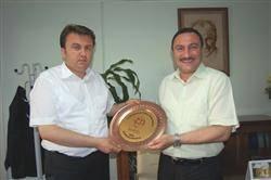 Gemci'den Fatih Mehmet Erkoç'a ziyaret