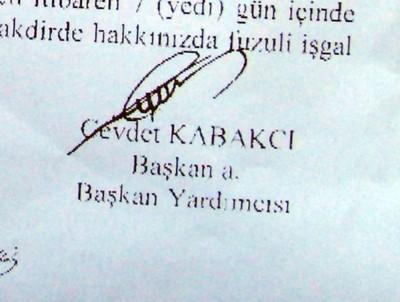 Kabakcı: Belediye tesisini boşaltın!
