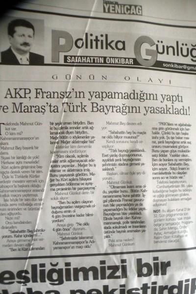 Başkan Erkoç'tan 'Bayrak rezaleti' haberine tepki!