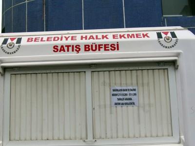 FLAŞ: Belediye Halk Ekmek Fabrikası kapandı!