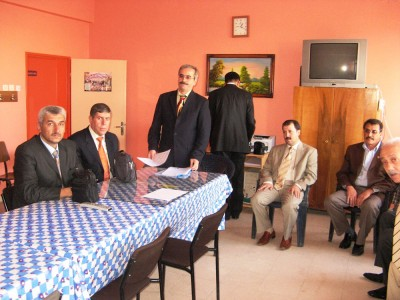 5. Eğitim Bölgesi toplantısı yapıldı