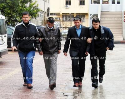 FLAŞ: Kuyumcu cinayeti zanlıları Adliye'de!..