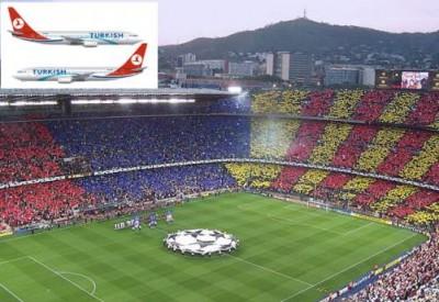 Barça THY ile uçtu İspanya çıldırdı!