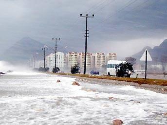 Meteorolojiden lodos ve yağış uyarısı