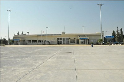 Kahramanmaraş Havaalanı uçuşlara açıldı..