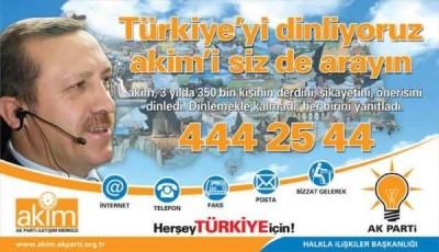 'Türkiye'yi dinliyoruz' sloganı var' esprisi yaptı..