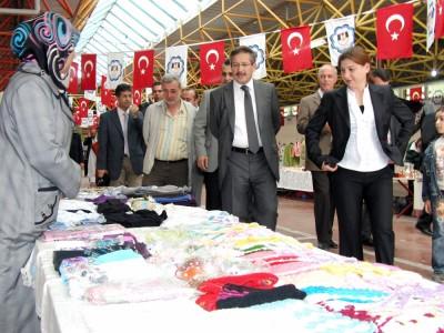 Kadın Emeği'ne Belediye'den özel pazaryeri..