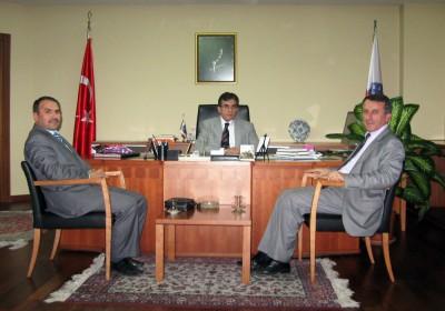 AGD üyelerinden Rektör'e ziyaret'