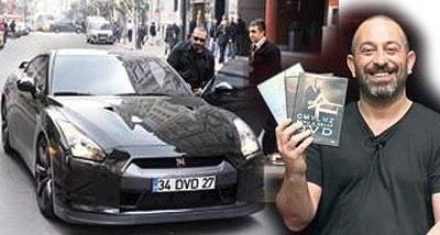 'DVD' plakalı arabasının sırrı çözüldü!