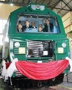 GE'yle kol kola girdi, ilk lokomotifi İngiliz'e satıyor!