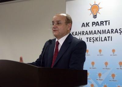 AK Partili Erzengin; 'Maraş bizim sevdamız'