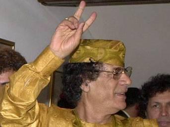 LİBYA: Kaddafi altınlarına güveniyor!