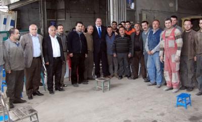 AK Parti'li Çaylı yolları arşınlamaya devam ediyor!