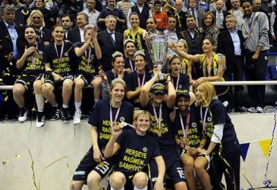 İşte Türkiye Kadınlar Basketbol Ligi şampiyonu...
