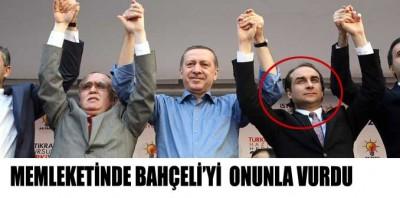 Bahçeli'yi memleketinde Türkeş'in oğluyla vurdu!..