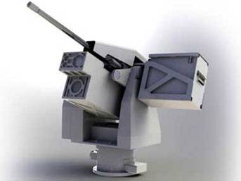 Mehmetçiklere 'Nöbetçi' robot göreve hazır!...