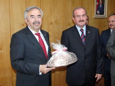 Ulaştırma Bakanı M. Habip Soluk Kahramanmaraş'ta...