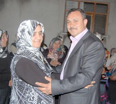 Barbaros'taki törende Ali ile Ayşe nişanlandı'