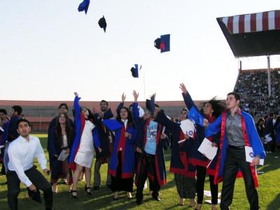 KSÜ'lü öğrenciler mezuniyet coşkusu yaşadı..