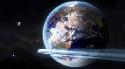 Göktaşı dünyayı 'teğet geçti'