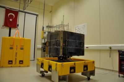 İlk yerli yer gözlem uydusu RASAT uzaya yolcusu..