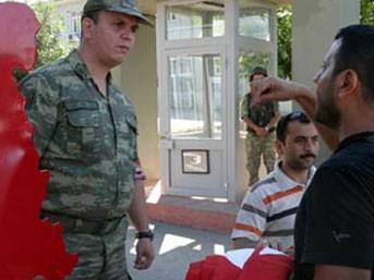 2. Ordu Komutanlığı önünde gerginlik!..