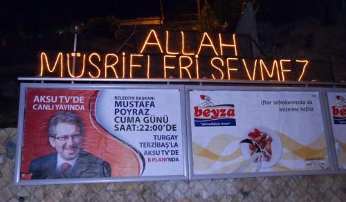 Vatandaşa yasak, Başkan Poyraz'a serbest!..