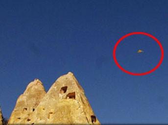 Kapadokya'da UFO paniği!..