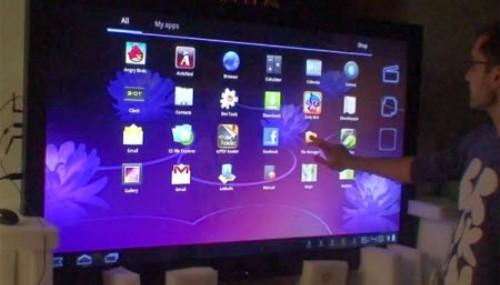 Türk şirketten dev Android tablet!